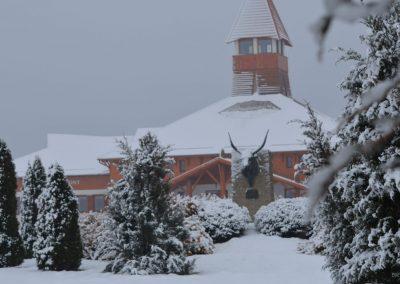 Látogató Központ télen